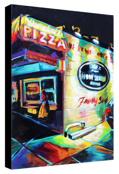 Home Slice Pizza - Sari Shryack - 16x20""