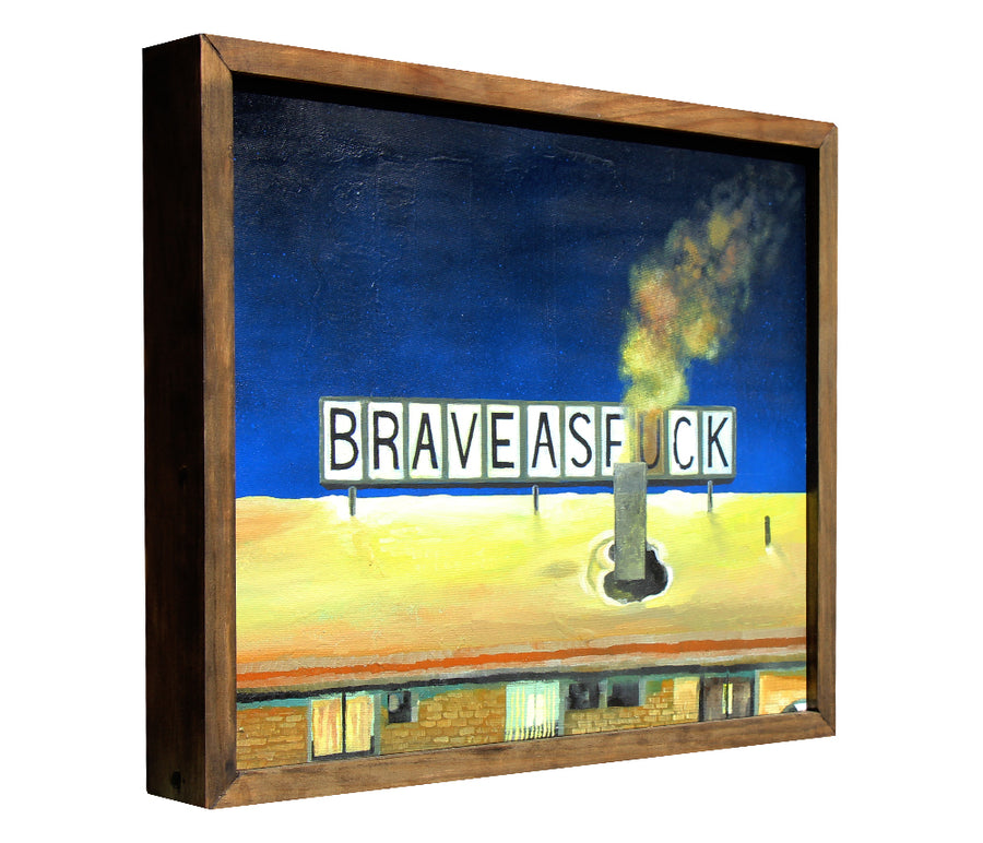 Home of the Brave - Jason Eatherly - 15x18""