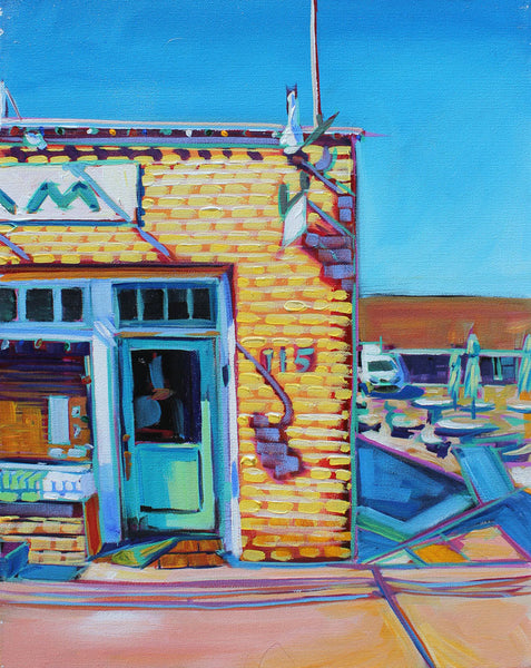 Ice Cream Shop - Sari Shryack - 16x20""