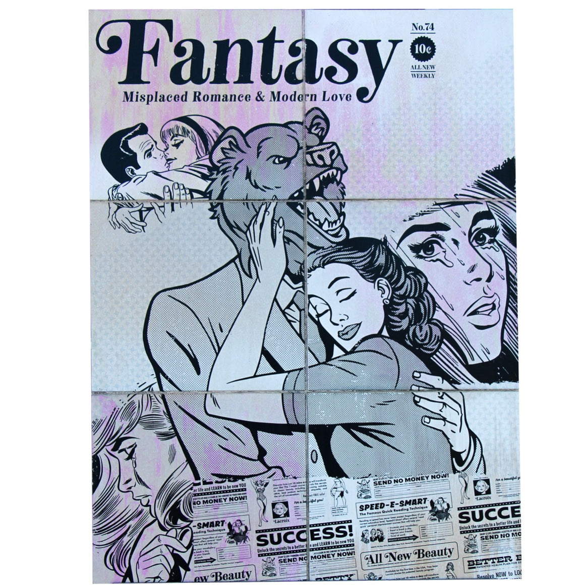 In Love With the Fantasy - Beast Syndicate - 18x24""