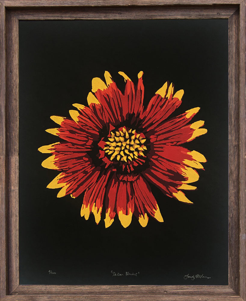 Indian Blanket - Landry McMeans - 18x24""