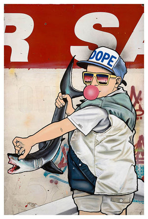 Be Young, Be Dope, Be Proud - Jason Eatherly - Print