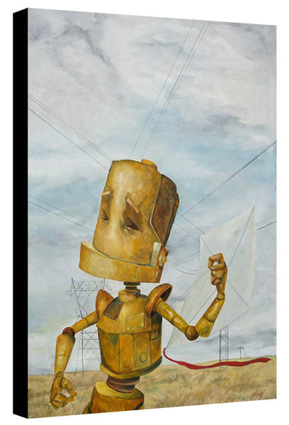 Kite Flyer Bot - Lauren Briere - Print