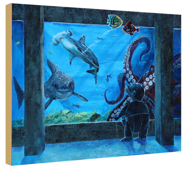Aquarium Bot - Lauren Briere - Print