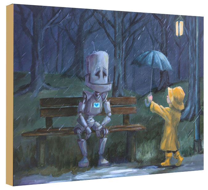 Bench Bot - Lauren Briere - Print