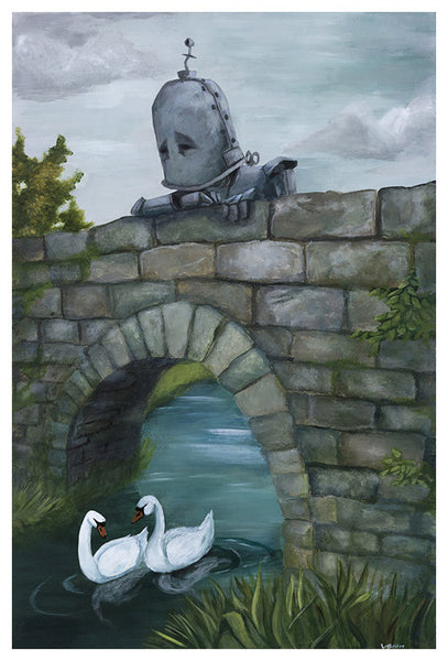Bridge Bot - Lauren Briere - Print