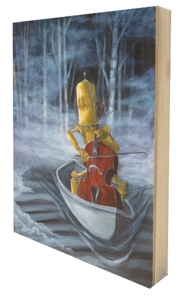 Cello Bot - Lauren Briere - Print