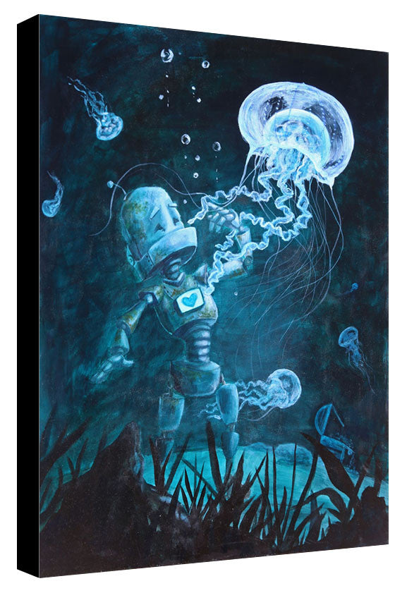 Deep Sea Bot - Lauren Briere - Print