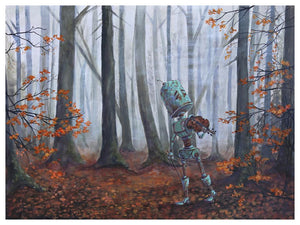 Forest Fall Bot - Lauren Briere - Print