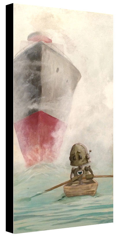 Foggy Bot - Lauren Briere - Print