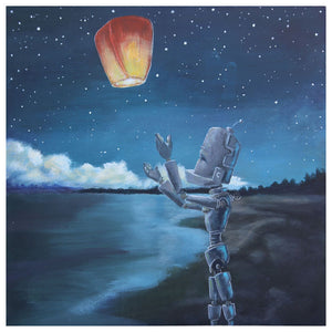 Lantern Beach Bot - Lauren Briere - Print