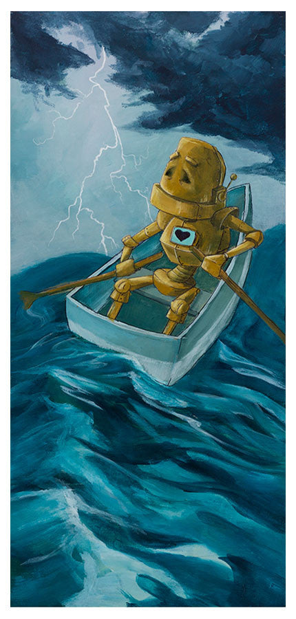 Lightning Bot - Lauren Briere - Print