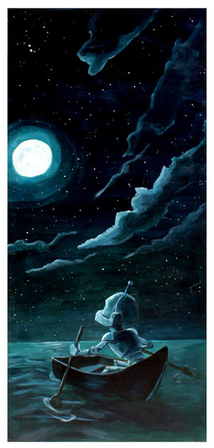 Moon Bot - Lauren Briere - Print
