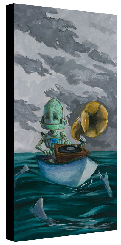 Shark Bot - Lauren Briere - Print