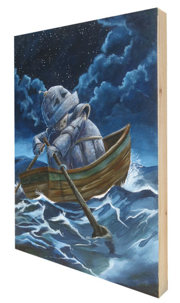 Starry Sea Bot - Lauren Briere - Print