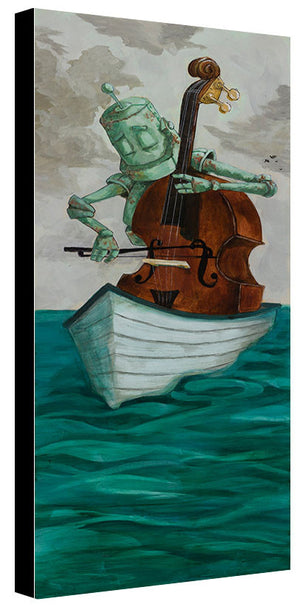 Upright Bass Bot - Lauren Briere - Print