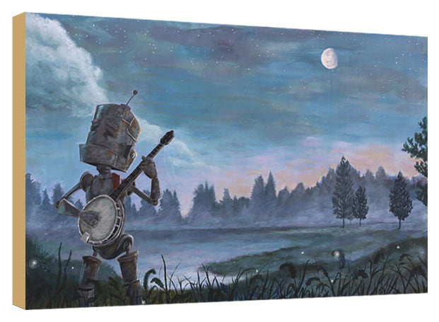 Walking Banjo Bot - Lauren Briere - Print