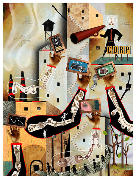 Collage - Larry Goode - Various Sizes