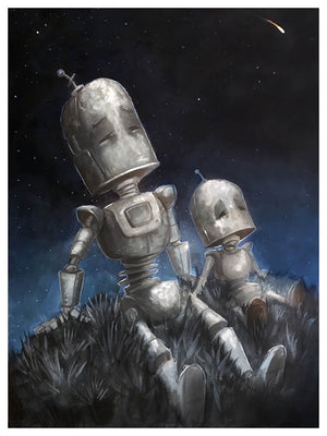 Little Friend Bot - Print by Lauren Briere