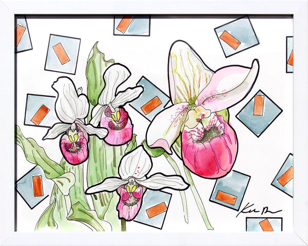 Lady Slippers - Katie Dunkle - 11x14""