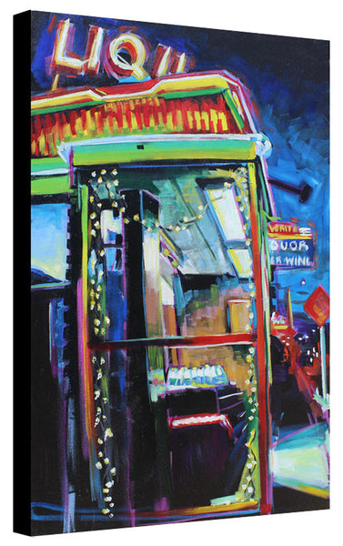 Liquor Store off West 6th Street - Sari Shryack - 24x36""