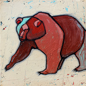 Little Bear - Joel Ganucheau - 18x18""