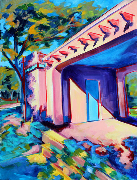 Little Stacy Hut - Sari Shryack - 18x24""
