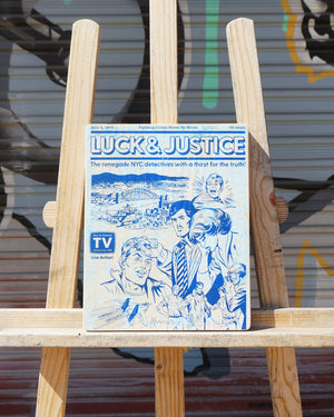 Luck & Justice - Beast Syndicate - 8x10""