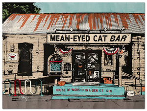 Mean Eyed Cat - Michelle SaintOnge