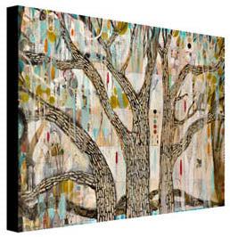 Ménage à Trees - Judy Paul - Print