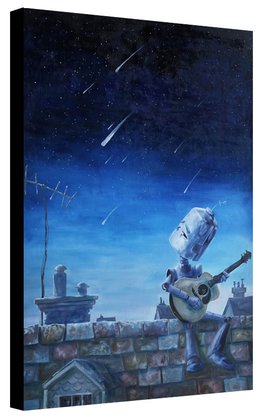 Meteor Bot - Print by Lauren Briere