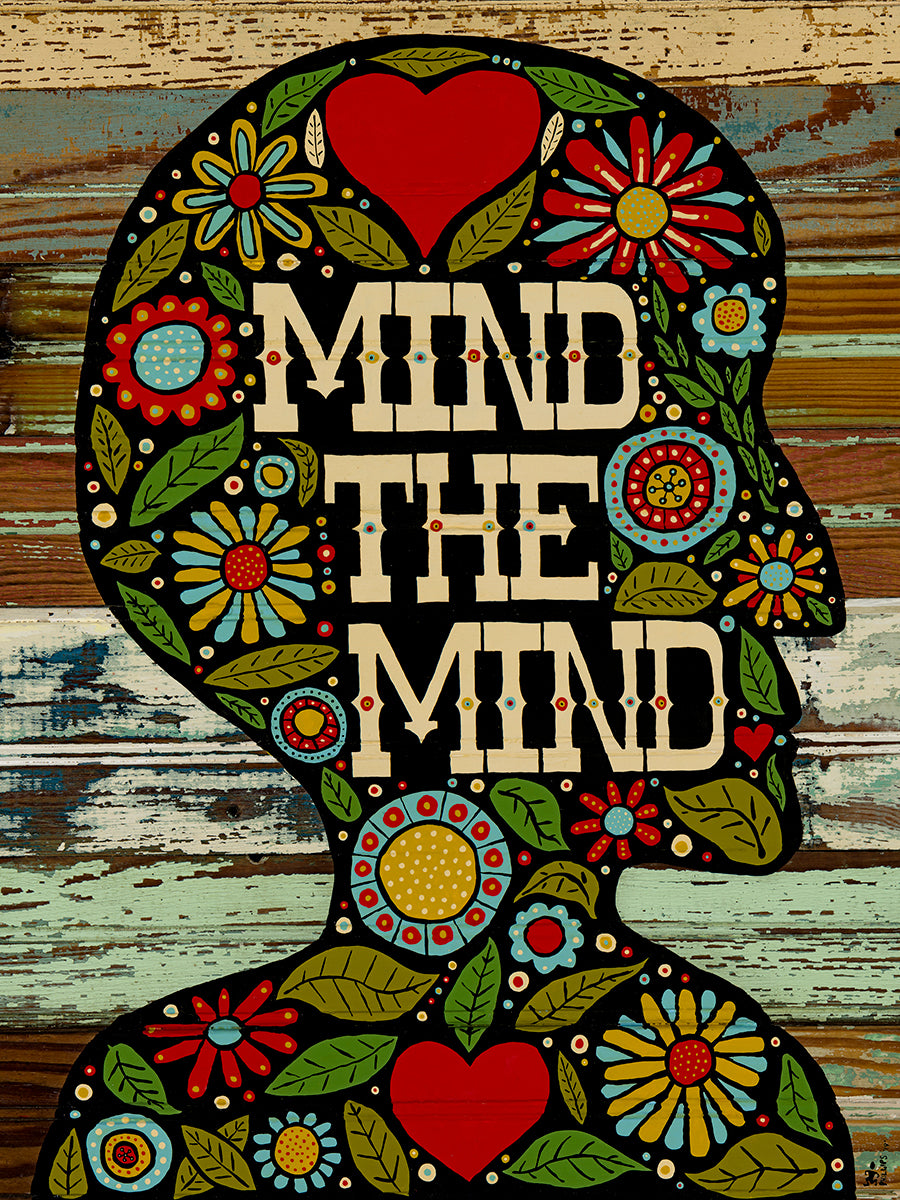 Mind the Mind - Brian Phillips - Print