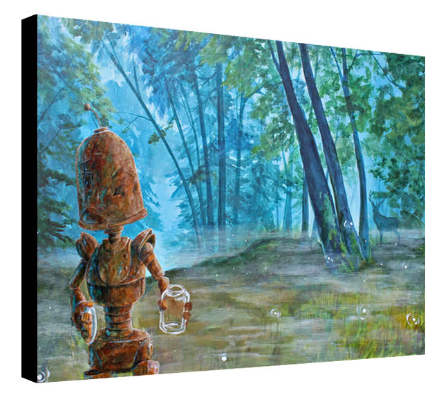 Misty Forest Bot - Print by Lauren Briere