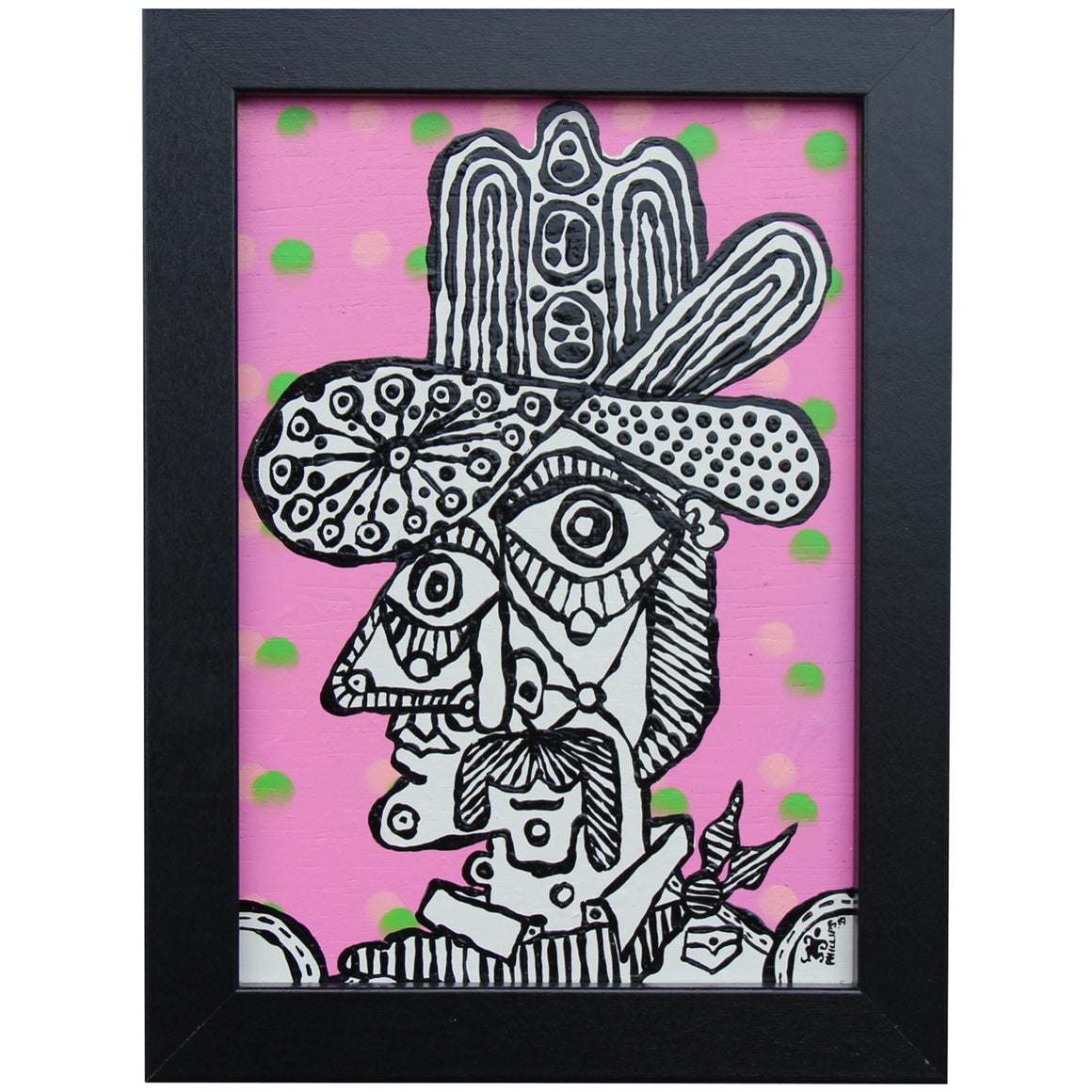 Mr. Pink - Brian Phillips - 6x8""