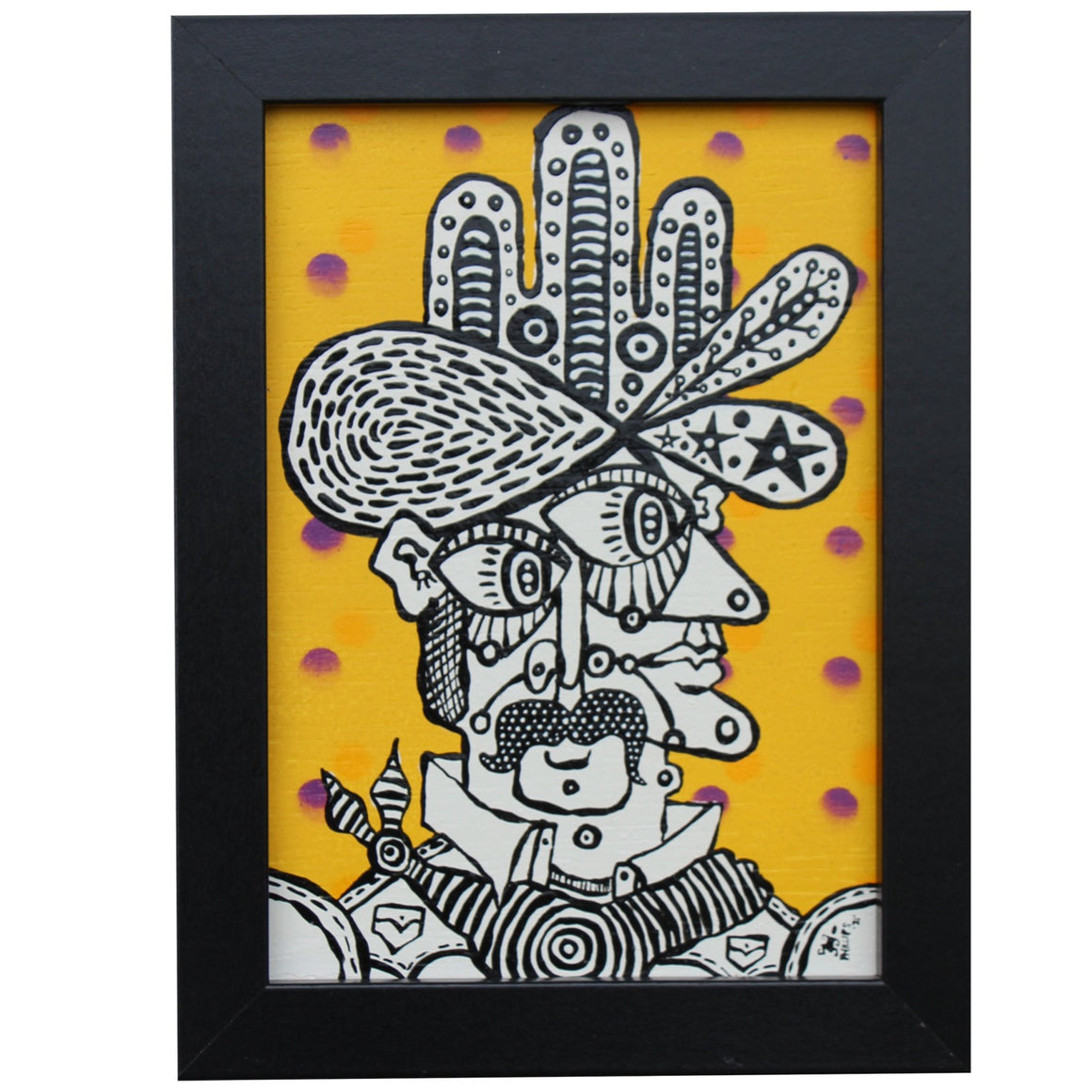 Mr. Yellow - Brian Phillips - 6x8""