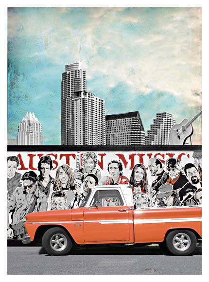 Music Austin by Jake Bryer