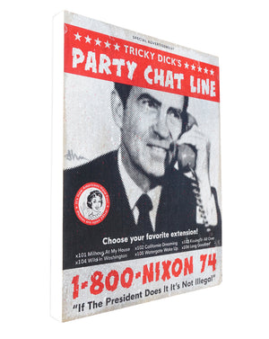 Nixon Party Line - Beast Syndicate - 8x10""