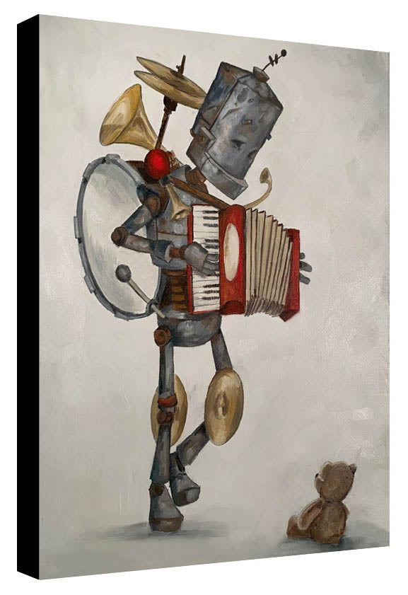 One Bot Band - Lauren Briere - Print