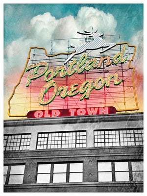 Old Town Portland by Jake Bryer