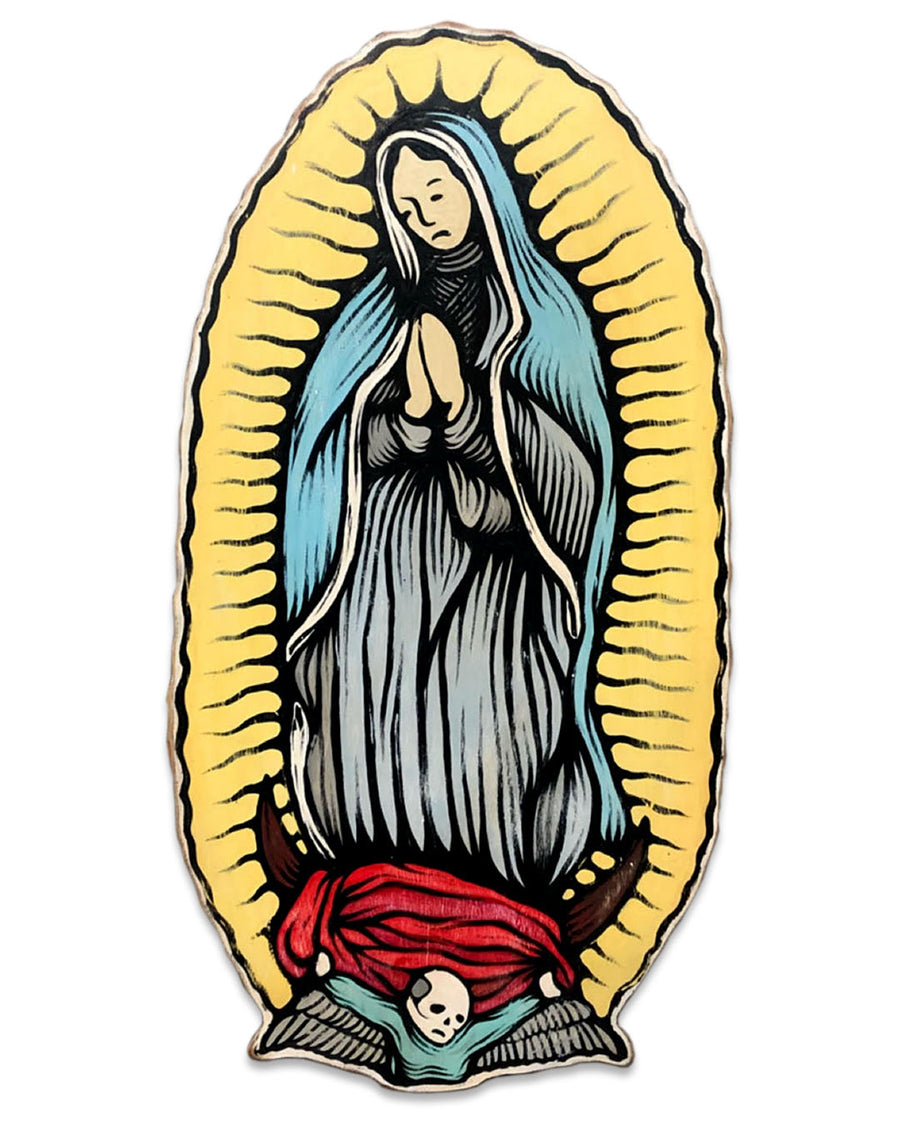 "Our Lady of Guadalupe - Joel Ganucheau - 17x32"" - ORIGINAL"