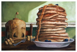 Pancakes Bot - Print by Lauren Briere