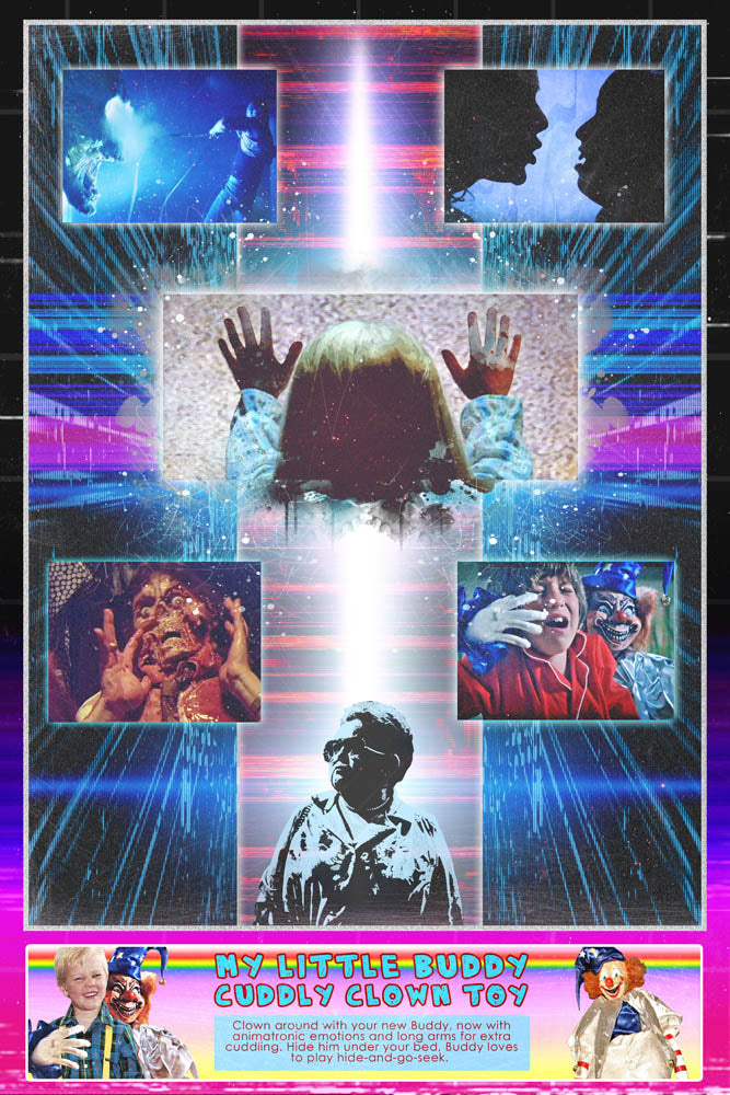 80's Movie Tribute - Poltergeist by Jake Bryer