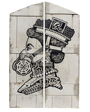 Queen Shutters - Jason Eatherly - 33x55""