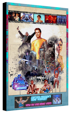 80's Movie Tribute - The Running Man by Jake Bryer