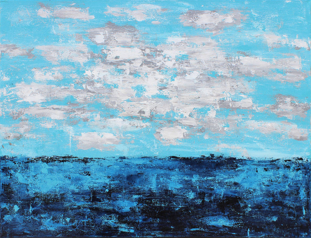 Seaside Escapes III - Dawn Winter - 30x40""