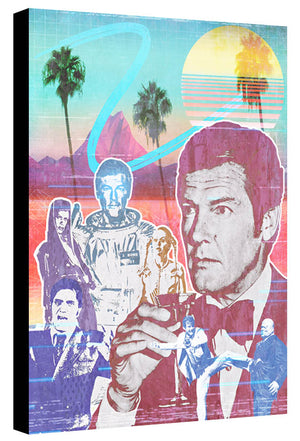 80s Tribute to Sir Roger Moore by Jake Bryer