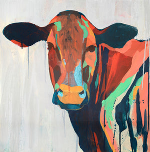 Spirit Cow - Judy Paul - Print