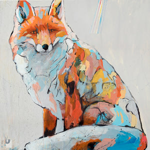 Spirit Fox - Judy Paul - Print