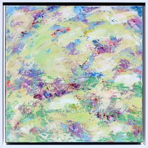Spring Blossoms II - Dawn Winter - 21.5 x 21.5""