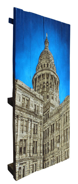 State Capitol of Texas - Seve Garza - 30x43""
